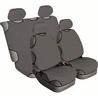Майки на сиденье автомобиля Beltex Cotton 4шт (без подголовников) серый