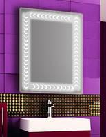 Зеркало с LED подсветкой настенное d88 600х800 мм Лед