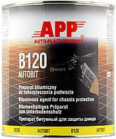 Бітумна маса для захисту APP для консервації кузова автомобіля чорна, 2.5 кг 050802