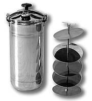 Автоклав бытовой универсальный BINGO стандарт (16 пол литровых банок или 9 литровых)