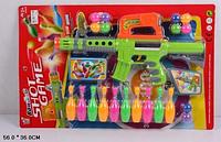 Ружье с шариками и кегли для боулинга 648h hn