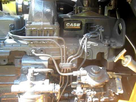 Фото двигателя экскаватора погрузчика Case