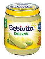 Bebivita «Кабачок», 125 г. (1807)