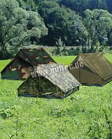 Двухместная палатка.  ZWEIMANNZELT ′MINI PACK SUPER′ OLIV