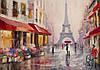 Фотообои бумажные на стену 368х254 см : Арт Париж (11512V8CN)