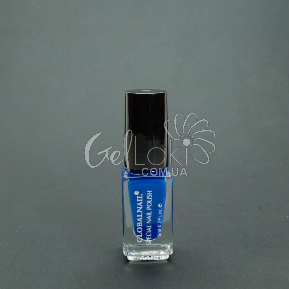 Лак-краска для стемпинга GlobalNail, 6 мл №099 (синий)