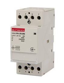 Модульний контактор e.mc.220.4.20.4 NO, 4р, 20А, 4NO, 220 В