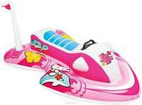 """Плотик детский пляжный водный мотоцикл """"Hello Kitty"""""""