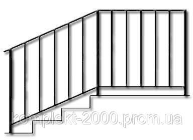 металлические перила для лестницы