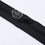 Молния рулонная чёрного цвета, Т3 (метражом), фото 2