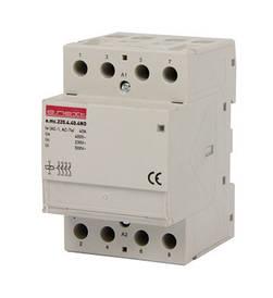 Модульний контактор e.mc.220.4.40.4 NO, 4р, 40А, 4NO, 220 В