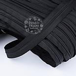 Молния рулонная чёрного цвета, Т3 (метражом), фото 4