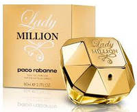 Женская парфюмированная вода paco rabanne lady million edp (копия)