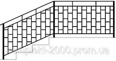 простые перила на лестницу