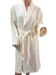 Халат Arya махровый хлопок 100% Miranda Soft Шаль Кремовый  L  XL