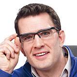 Регульовані окуляри Dial Vision Adjustable Lens Eyeglasses від -6D до + 3D, очки з регулюванням лінз, фото 2