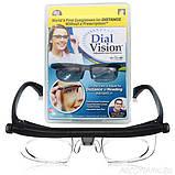 Регульовані окуляри Dial Vision Adjustable Lens Eyeglasses від -6D до + 3D, очки з регулюванням лінз, фото 3