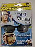 Регульовані окуляри Dial Vision Adjustable Lens Eyeglasses від -6D до + 3D, очки з регулюванням лінз, фото 4