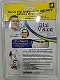 Регульовані окуляри Dial Vision Adjustable Lens Eyeglasses від -6D до + 3D, очки з регулюванням лінз, фото 5