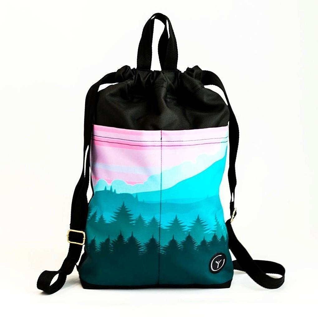 6221af36fd96 Сумка рюкзак городская Landscape YetiUa (сумка, рюкзак, женский рюкзак