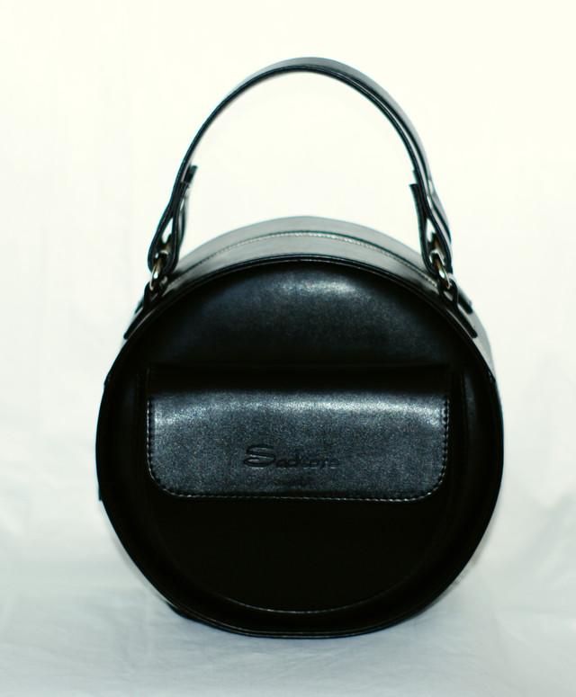 Круглая сумка от украинского производителя