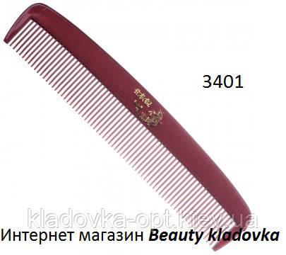 Расческа мужская карманная 3401, фото 2