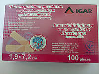 Пластырь бактерицидный медицинский Игар на хлопковой основе  (Классический) №100 , фото 1