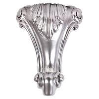 Ножка мебельная ROMEO H.240 D.160X160, матовый хром, фото 1