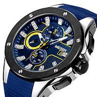 Megir Мужские часы Megir Racer Blue