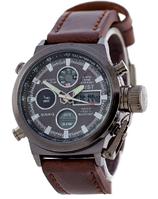 Часы мужские наручные АМСТ AMST Black-Black SK-1094-0001 ААА copy SK (реплика)