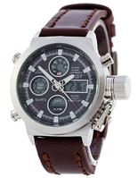Часы мужские наручные AMST SK-1094-0002 Silver-Black ААА copy SK (реплика)