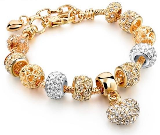 женский браслет пандора Pandora шарм цена 210 грн купить