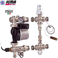 Смесительная группа Icma (Италия) +Grundfos 25\60