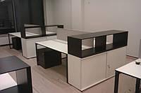 Офисные столы с тумбой, фото 1
