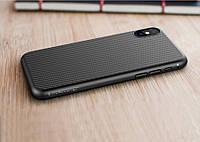Карбоновый чехол-накладка Nillkin Synthetic Fiber для Apple iPhone X, фото 1