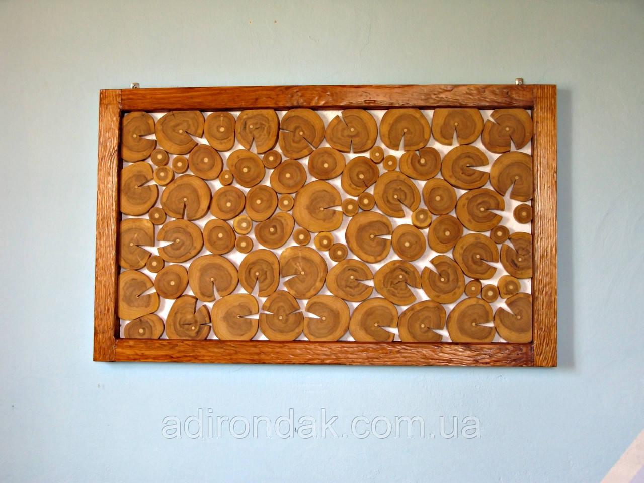 Панно из дерева с рамкой