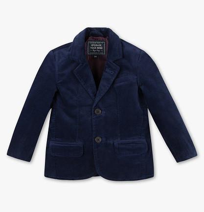 Стильний велюровий піджак для хлопчика 5-6 років C&A Німеччина Розмір 116