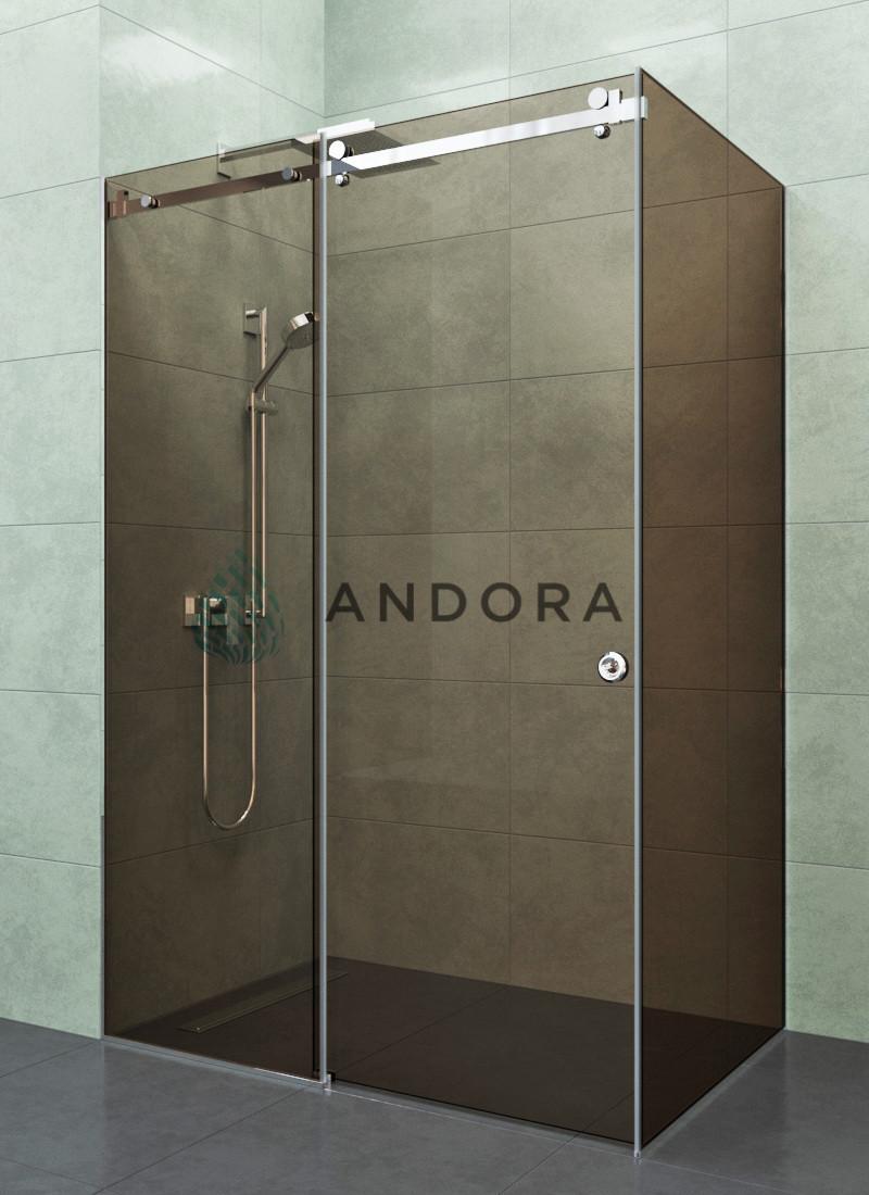 Душевая кабина Andora Dream 1300x900x200 стекло bronze
