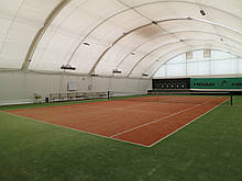 Тенісна штучна трава