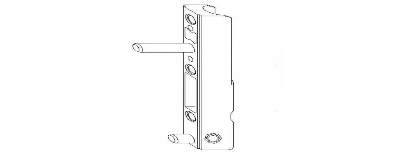 Нижняя петля створки MACO 5 мм