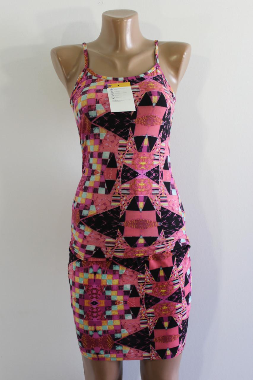 Костюм летний женский Stylist розовый 40-46
