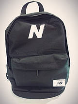 Універсальний зручний місткий рюкзак в стилі New Balance, фото 3
