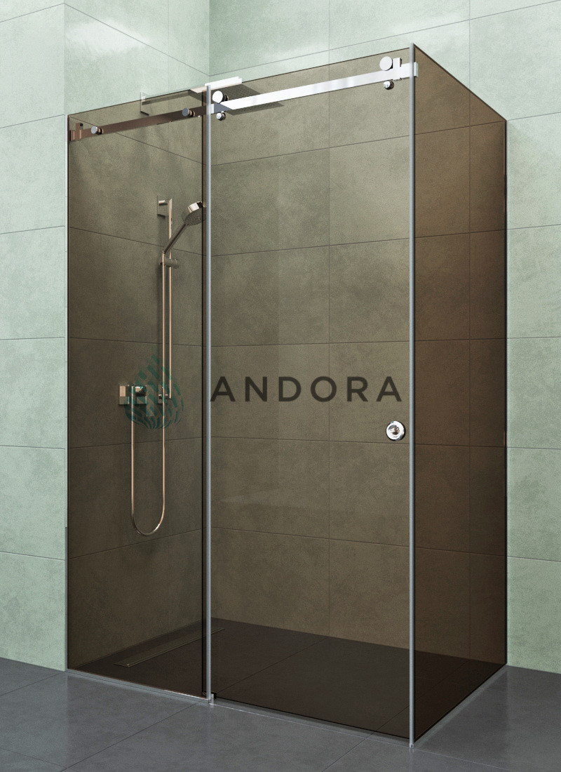 Душевая кабина Andora Dream 1200x1000x2000 стекло bronze L/R