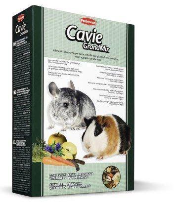 Padovan Cavie and Chinchilla GrandMix 850г - корм для шиншилл, морских свинок и дегу