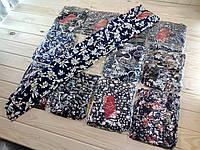 Женские лёгкие летние штаны султанки с карманами Ласточка 402. батал (разные рисунки)  ЛЖЛ-3070