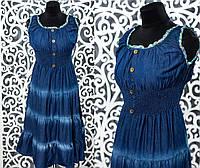 Женский джинсовый сарафан размер 48, 50, 52 норма
