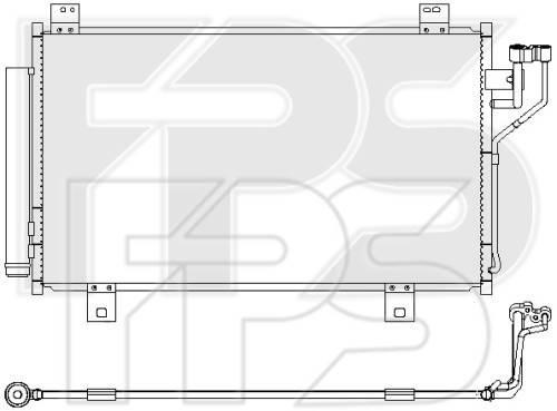 Радиатор кондиционера Mazda 6 GJ (13-18) (Koyorad), фото 2