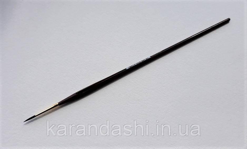 Кисть Pinax Poseidon 801 БЕЛКА микс № 2 круглая длинная ручка