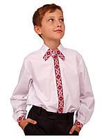 """Рубашка детская для мальчиков """"вышиванка""""  М-878  рост 152, фото 1"""