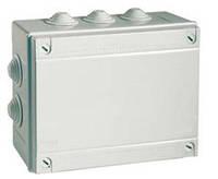 Коробка ответвительная 240х190х90мм с кабельными вводами IP55